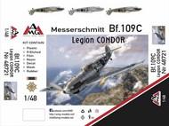 Messerschmitt Bf.109C-1 Legion Condor #ARG48721