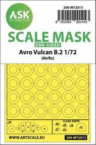 Avro Vulcan B.2 canopy masks (outside only)* #200-M72013