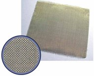 Brass Wire Mesh. Cell size 0.16mm. Approx 50mm x 50mm #AASQ72009