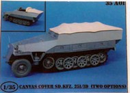 Sd.Kfz. 251/1 D Canvas Covers - 2 Types #ATK35A01