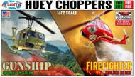 Atlantis Models  1/72 Fire Fighter Helicopter (Snap) (formerly Monogram) AAN1026