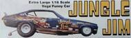 Atlantis Models  1/16 Jungle Jim Vega Funny Car (formerly Revell) - Pre-Order Item AAN1486