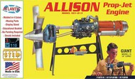Atlantis Models  1/10 Allison Turboprop Engine w/Moving Parts & Stand (formerly Revell) - Pre-Order Item AAN1551