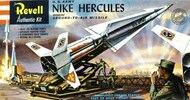 US Army Nike Hercules Ground-to-Air Missile w/3 Crew Figures (formerly Revell) #AAN1804