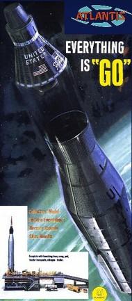 Atlas Ballistic Missile w/Gantry & Mercury Capsule (formerly Revell) #AAN1833