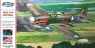 Atlantis Models  1/46  WWII P-39 Airacobra Shark Mouth Fighter (formerly Revell) AAN222
