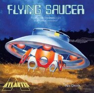 Atlantis Models  1/46 The Flying Saucer w/Clear Dome from Classic TV The Invaders (formerly Aurora) (replaces 1006) AAN256