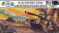 Atlantis Models  1/48 US M-46 Patton Tank (formerly Aurora) AAN301