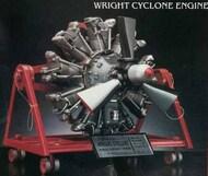 Atlantis Models  1/12 Wright Cyclone 9 Radial Engine STEM Model Kit (formerly Monogram) - Pre-Order Item AAN6052