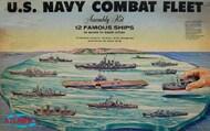 Atlantis Models  1/1200 US Navy Task Force Set: 12 Different Ships (Renewal tooling) - Pre-Order Item AAN6300
