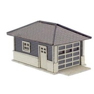 Atlas  N Barb's Bungalow Garage Wooden Kit (2)- Net Pricing ATL2860