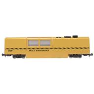 Atlas  N N Track Cleaning Car Mow Yel ATL32555