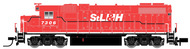 Atlas  N N Gp38-2 Stlaw&H 7306 ATL40000626