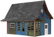 Atlas  HO Tuckerton Office Wooden Kit ATL4001010