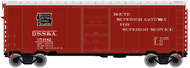 Atlas  N 40'Ps-1 Boxcar Dss&A 15192- Net Pricing ATL50002348