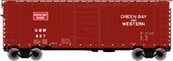 Atlas  N 40'Ps-1 Boxcar Gbw 704- Net Pricing ATL50002349