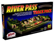 Atlas  HO River Pass Track Pack ATL578