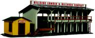 Atlas  HO Ho Lumber Yard & Office Kit ATL750