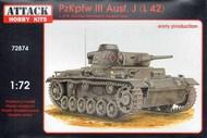 Pz.Kpfw.III Ausf.J./ L42 Early production #ATK72874