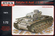 Pz.Kpfw.III Ausf.J./ L60 Early production #ATK72875
