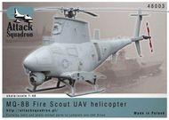 Attack Squadron  1/48 MQ-8B UAV Drone Helicopter ATS48003