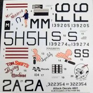 Attack Decals  1/48 A-26 Invaders of the 416th BG (Kitlinx Exclusive!) ATKD4801