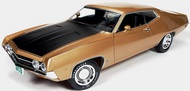 Autoworld Diecast  1/18 '70 Ford Torino Cobra Yel AUT1049