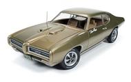 Autoworld Diecast  1/18 '69 Pontiac Gto Ht Gld AUT1081