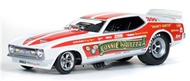 Autoworld Diecast  1/18 '72 Bounty Hunter Mustang F/C- Net Pricing AUT1111