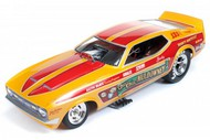 Autoworld Diecast  1/18 '72 Cha Cha Mustang F/C- Net Pricing AUT1113