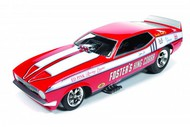 Autoworld Diecast  1/18 '72 Fosters King Cobra Mustang- Net Pricing AUT1117