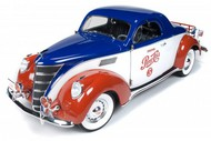 Autoworld Diecast  1/18 '37 Lincoln Zephyr Coupe Pepsi- Net Pricing AUT205
