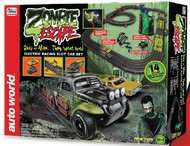 Auto World  HO Zombie Escape Slot Car 14' Racing Set AWD32303