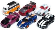 Auto World  HO HO X-Traction Car N Coffee Slot Car Assortment - Series #23 (12 Total) AWD332