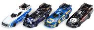 Auto World  HO 4-Gear NHRA Funny Car Slot Car Assortment - Series #21 (12 Total) AWD337