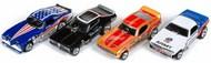 4-Gear Legends of Quarter Mile Slot Car Assortment - Series #22 (12 Total) #AWD342