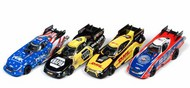 Auto World  HO HO 4-Gear NHRA Funny Cars Slot Car Assortment - Series #23 (12 Total) AWD347