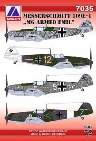 Messerschmitt Bf.109E-1 'MG armed Emils' #AVD7035