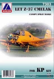 LET Z-37 Cmelak (Humblebee) canopy mask #AVD7303