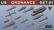 US Ordnance Weapons Set for F-14D #88007 #AGK88E01