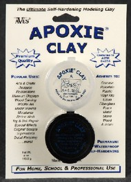 Aves Apoxie   N/A Apoxie Clay Native 2-Part Self-Hardening  (Net wt. 4oz.) AVX1001