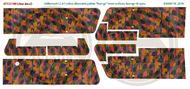 Halberstadt CL.II 5 colour alternative palette 'lozenge' upper surfaces w/lozenge rib tapes (Clear decal paper) #ATT32199