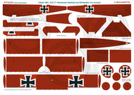 Fokker DR.I 425/17 Rittmeister Manfred von Richthofen (1st version) #ATT32224