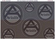 WWI Austro-Hungarian printed linen 'sworl' camouflage (Clear decal) #ATT72031
