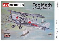 Back in stock! de Havilland DH-83 Fox Moth 'Foreign Service' #AVI72010