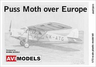 de Havilland DH-80A Puss Moth 'Over Europe' #AVI72011
