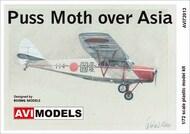 de Havilland DH-80A Puss Moth 'Over Asia' #AVI72013