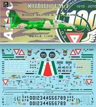 Northrop F-5E/F FAM Mexico #AZD7259