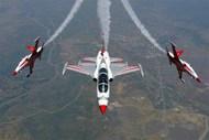 Northrop NF-5A Turkish Stars Aeroteams last scheme (Microscale printed) #BAB01007