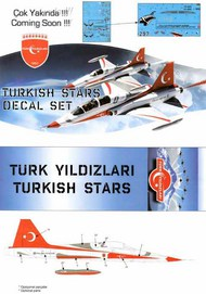 NF-5A Freedom Fighter Turkish Stars Aeroteam #BAB01008